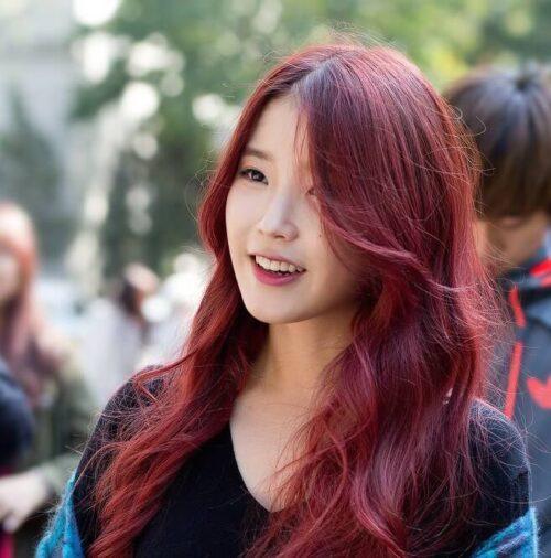 Màu tóc đỏ đồng
