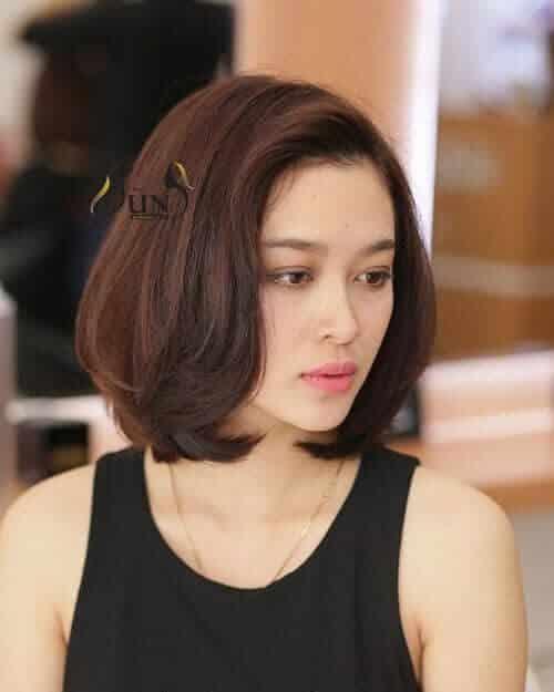 Kiểu tóc ngắn đẹp 2021 cho mặt tròn - Ảnh 10
