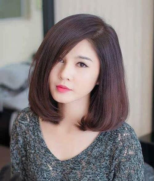 Kiểu tóc ngắn đẹp 2021 cho mặt tròn - Ảnh 7