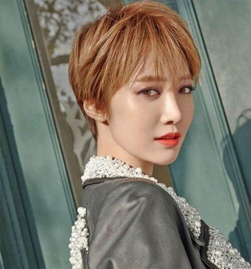 Kiểu tóc ngắn cá tính cho nữ đẹp nhất 2021 - Ảnh 2