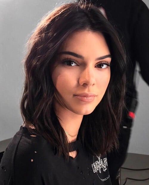 Kiểu tóc ngang vai mặt dài đẹp nhất 2021 - Ảnh 1