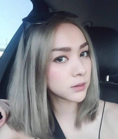 Kiểu tóc ngang vai mặt dài đẹp nhất 2021 - Ảnh 18