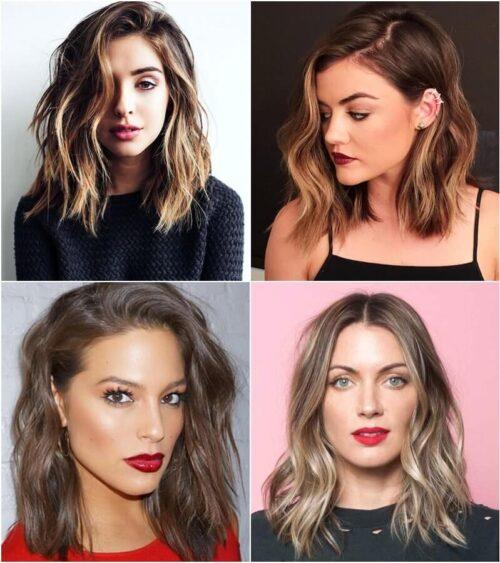 Kiểu tóc ngang vai mặt dài đẹp nhất 2021 - Ảnh 4