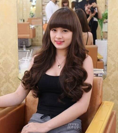 Kiểu tóc xoăn đuôi đẹp 2021 phái nữ yêu thích - Ảnh 12