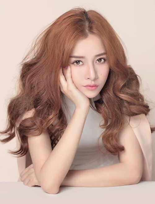 Kiểu tóc xoăn đuôi đẹp 2021 phái nữ yêu thích - Ảnh 13