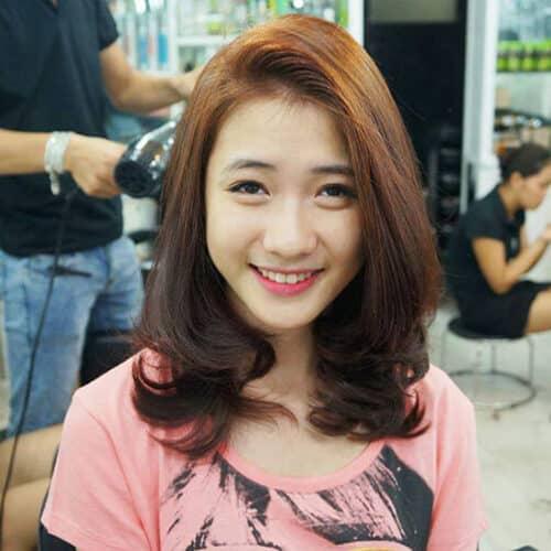 Kiểu tóc xoăn đuôi đẹp 2021 phái nữ yêu thích - Ảnh 20