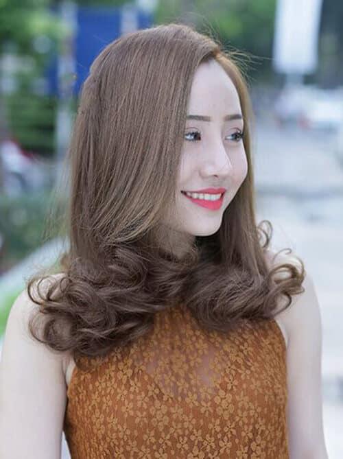 Kiểu tóc xoăn đuôi đẹp 2021 phái nữ yêu thích - Ảnh 21