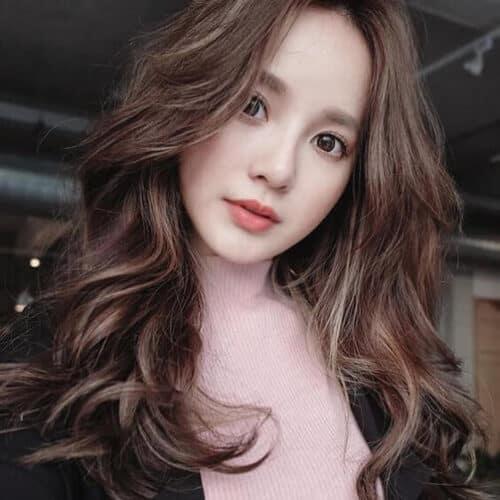 Kiểu tóc xoăn đuôi đẹp 2021 phái nữ yêu thích - Ảnh 23