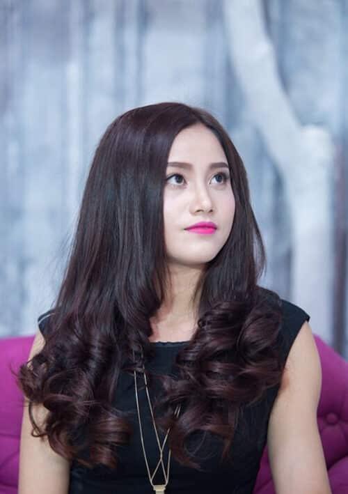 Kiểu tóc xoăn đuôi đẹp 2021 phái nữ yêu thích - Ảnh 25