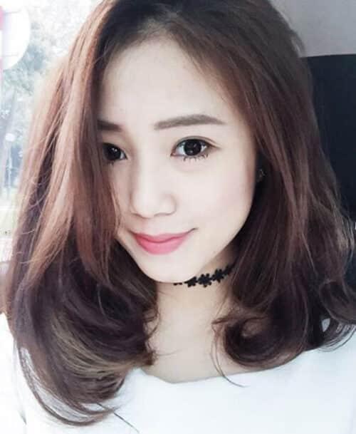 Kiểu tóc xoăn đuôi đẹp 2021 phái nữ yêu thích - Ảnh 28