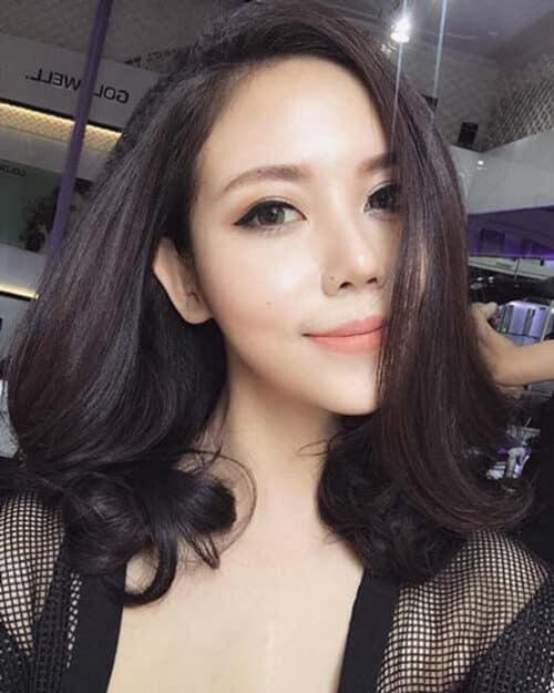 Kiểu tóc xoăn đuôi đẹp 2021 phái nữ yêu thích - Ảnh 34