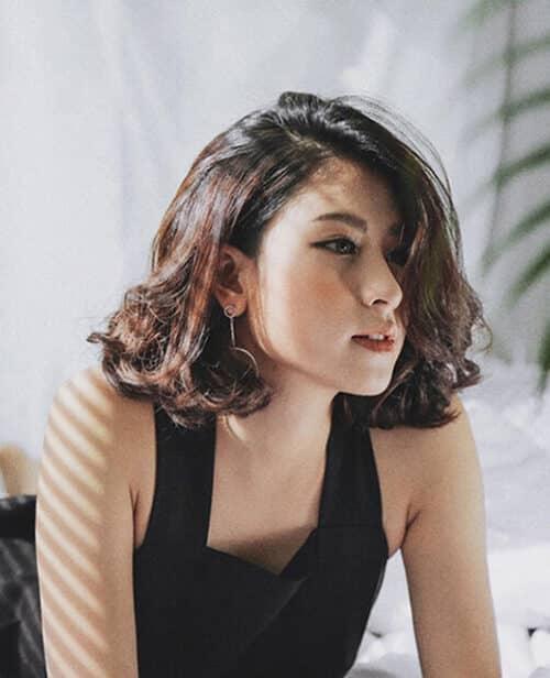 Kiểu tóc xoăn đuôi đẹp 2021 phái nữ yêu thích - Ảnh 6