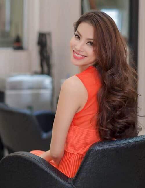 Kiểu tóc xoăn dài đẹp 2021 khiến chị em mê mẩn - Ảnh 13