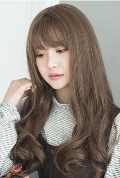 Kiểu tóc xoăn dài đẹp 2021 khiến chị em mê mẩn - Ảnh 6