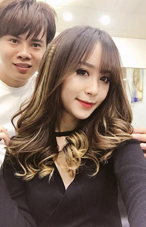 Kiểu tóc xoăn dài đẹp 2021 khiến chị em mê mẩn - Ảnh 8