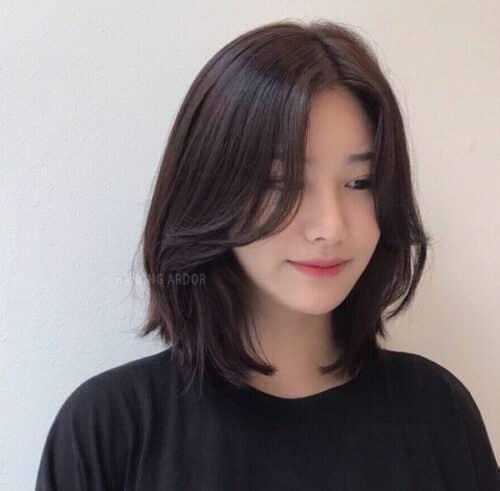 Nhuộm tóc màu đen