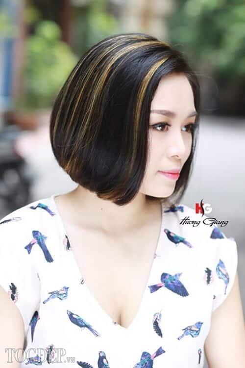 Kiểu tóc bob đẹp 2021 làm chị em mê mẩn - Ảnh 19