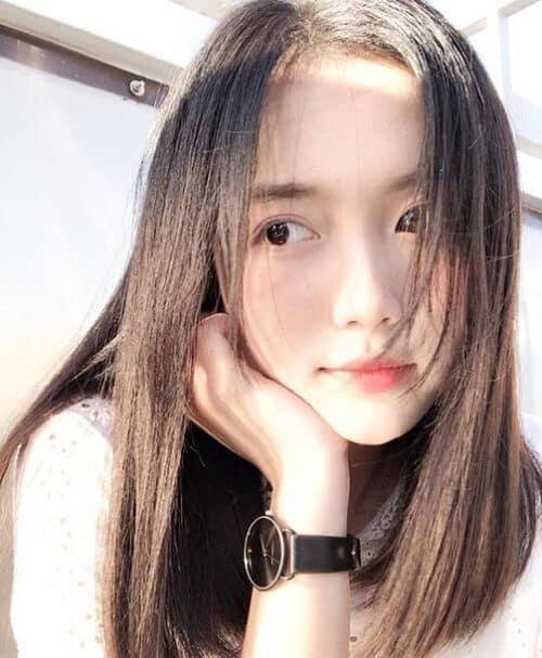 Tóc dài 2 mái