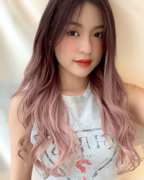 Kiểu tóc dài uốn 2021 xinh lung linh - Ảnh 20