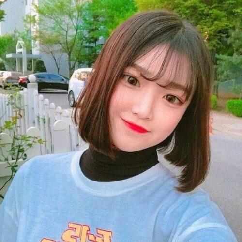 Kiểu tóc ngắn mái thưa đẹp nhất 2021 - Ảnh 1