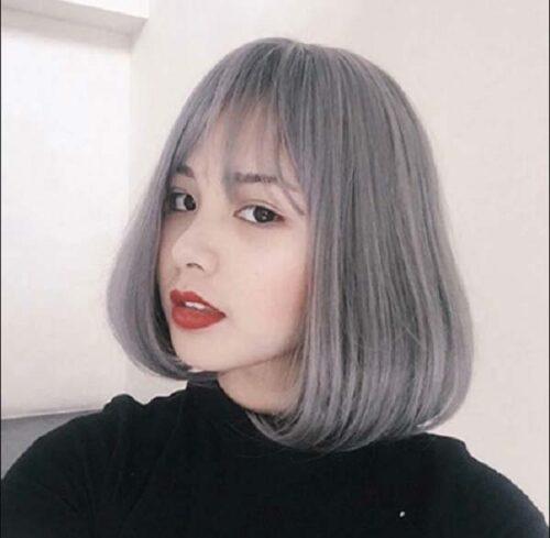 Kiểu tóc ngắn mái thưa đẹp nhất 2021 - Ảnh 10