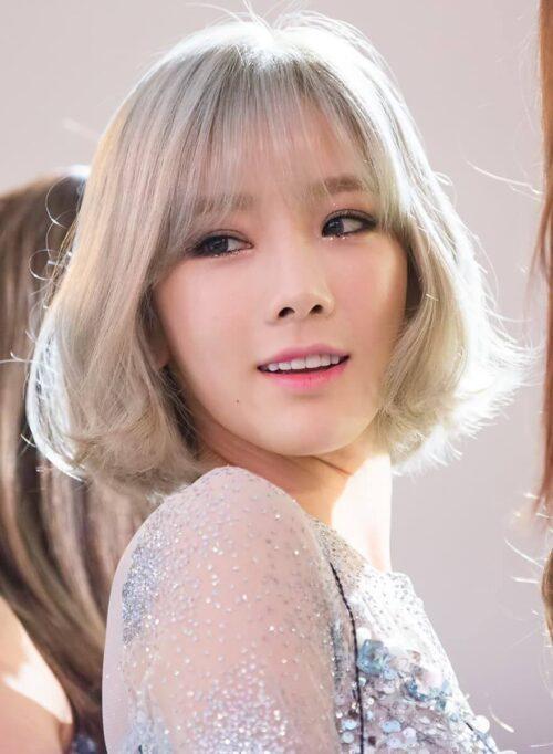 Kiểu tóc ngắn mái thưa đẹp nhất 2021 - Ảnh 13