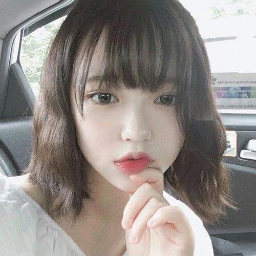 Kiểu tóc ngắn mái thưa đẹp nhất 2021 - Ảnh 14