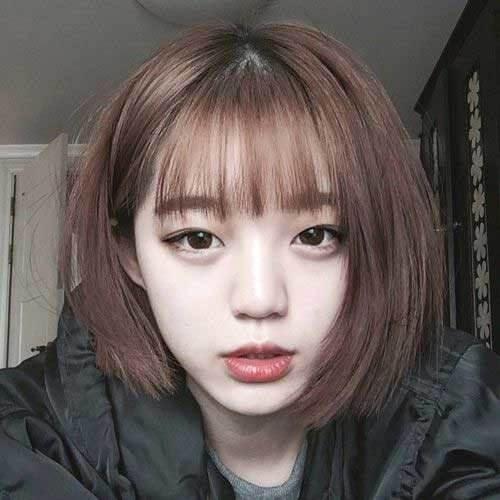 Kiểu tóc ngắn mái thưa đẹp nhất 2021 - Ảnh 19