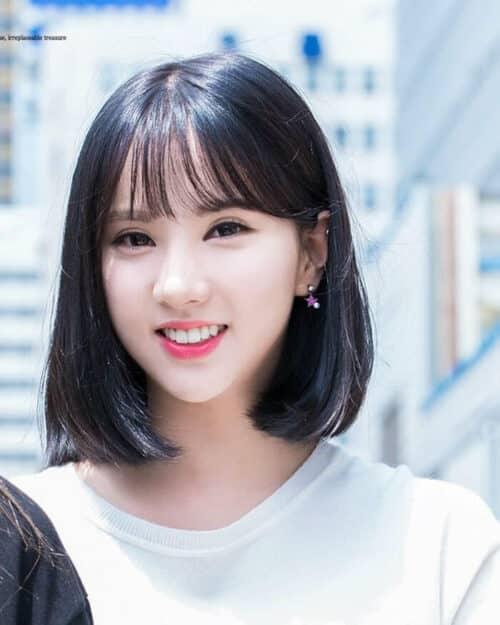 Kiểu tóc ngắn mái thưa đẹp nhất 2021 - Ảnh 9