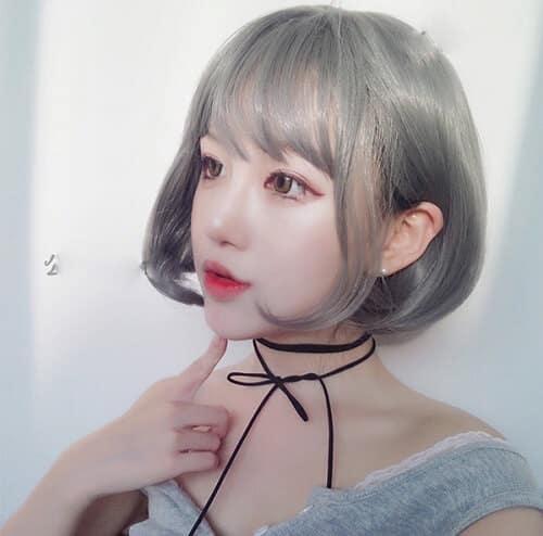 Kiểu tóc ngắn uốn đuôi đẹp nhất 2021 - Ảnh 8