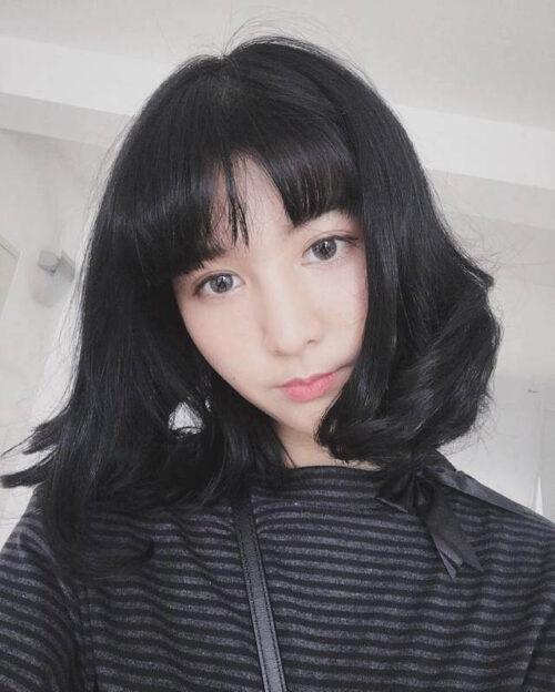Kiểu tóc ngang vai cho mặt tròn đẹp nhất 2021 - Ảnh 17