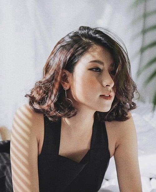 Kiểu tóc ngang vai cho mặt tròn đẹp nhất 2021 - Ảnh 4
