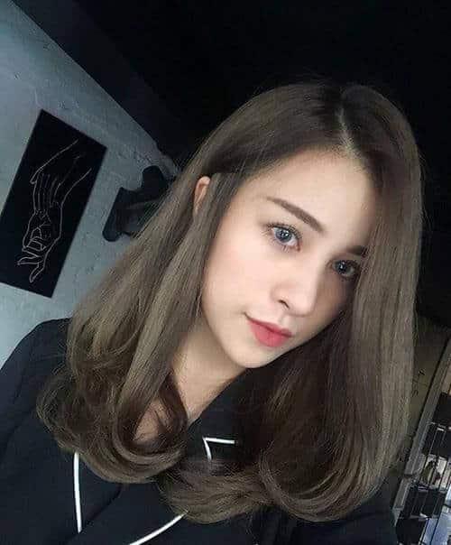 Kiểu tóc ngang vai cho mặt tròn đẹp nhất 2021 - Ảnh 6