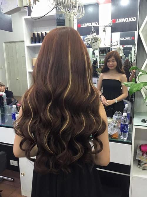 Kiểu tóc sóng nước đẹp 2021 - Ảnh 16