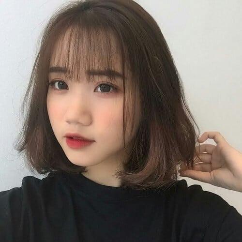 Kiểu tóc uốn cúp đuôi đẹp nhất 2021 - Ảnh 17