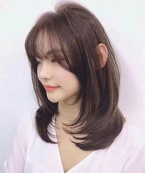 Kiểu tóc uốn cúp đuôi đẹp nhất 2021 - Ảnh 18