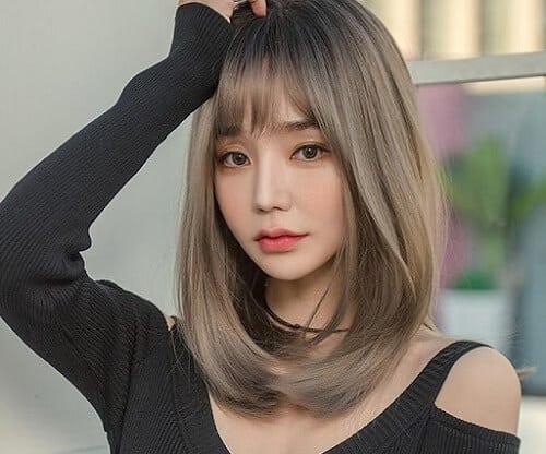 Kiểu tóc uốn cúp đuôi đẹp nhất 2021 - Ảnh 20