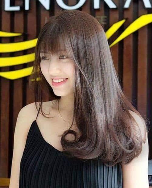 Kiểu tóc uốn đuôi 2021 đẹp lộng lẫy cho phái nữ - Ảnh 17