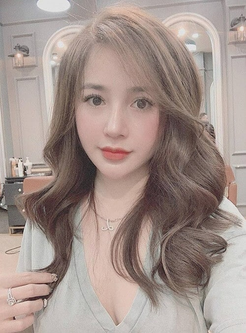 Kiểu tóc uốn đuôi 2021 đẹp lộng lẫy cho phái nữ - Ảnh 4