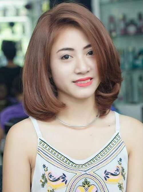 Kiểu tóc uốn đuôi 2021 đẹp lộng lẫy cho phái nữ - Ảnh 8