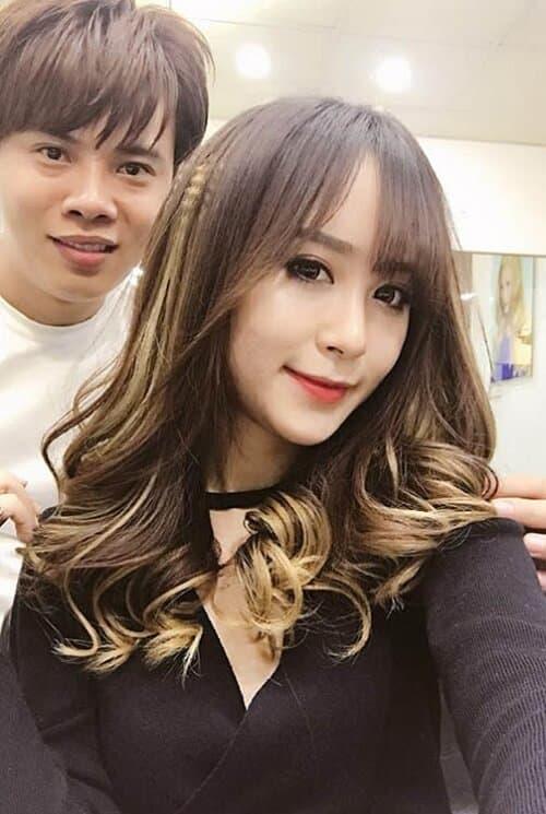 Kiểu tóc xoăn lọn to 2021 đẹp - Ảnh 12