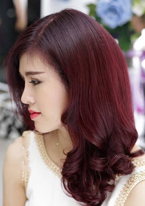 Kiểu tóc xoăn lọn to 2021 đẹp - Ảnh 18