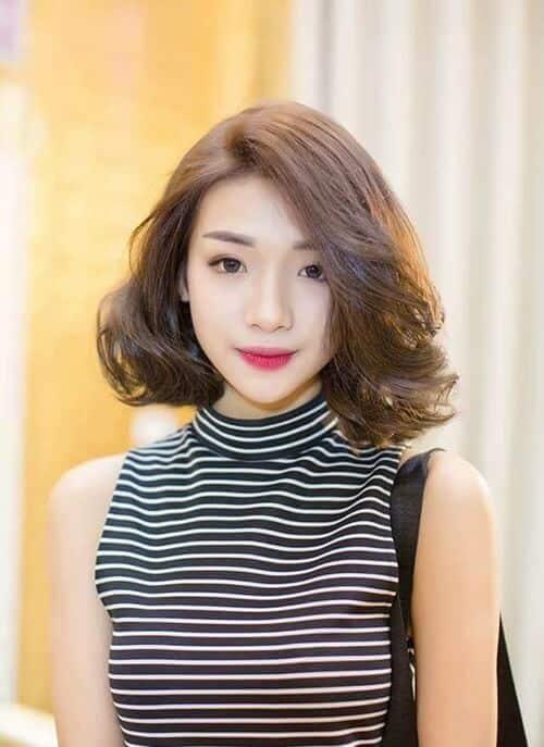 Kiểu tóc xoăn ngắn 2021 đẹp nhất cho phái nữ - Ảnh 3