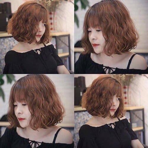 Kiểu tóc xoăn ngắn 2021 đẹp nhất cho phái nữ - Ảnh 33