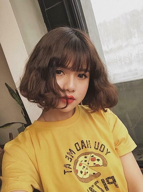 Kiểu tóc xoăn ngắn 2021 đẹp nhất cho phái nữ - Ảnh 8