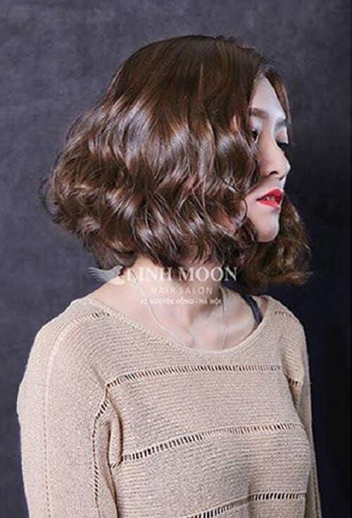 Kiểu tóc xoăn sóng đẹp 2021 phù hợp mọi gương mặt - Ảnh 9