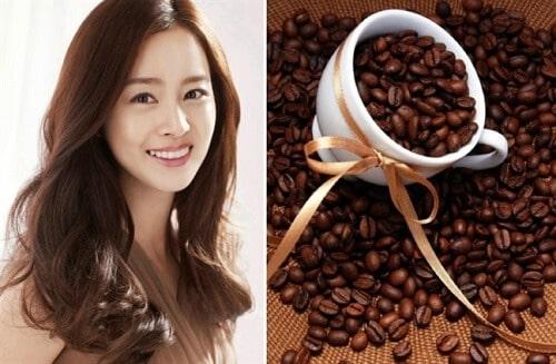 Tóc màu cà phê cho da vàng