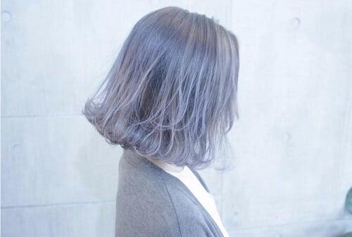 Tóc màu tím khói trẻ trung