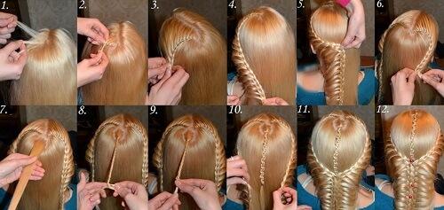 Để thực hiện tết tóc hình trái tim cần có sự tỉ mỉ