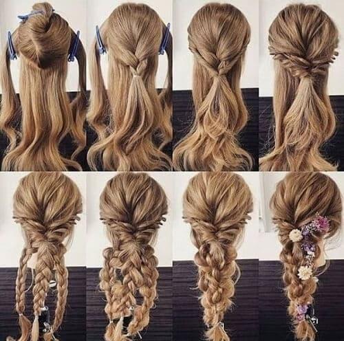 Kiểu tết tóc đẹp dự tiệc với phụ kiện khiến bạn trở nên nổi bật